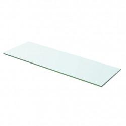 Sonata Плоча за рафт, прозрачно стъкло, 60 x 15 см - Етажерки