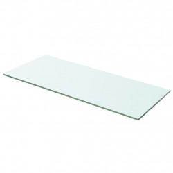 Sonata Плоча за рафт, прозрачно стъкло, 60 x 20 см - Етажерки