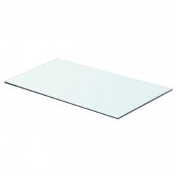 Sonata Плоча за рафт, прозрачно стъкло, 60 x 30 см - Етажерки