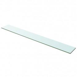 Sonata Плоча за рафт, прозрачно стъкло, 100 x 12 см - Sonata H