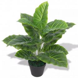 Sonata Изкуствено растение трилистник със саксия, 45 см, зелено - Изкуствени цветя