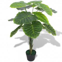 Sonata Изкуствено растение трилистник със саксия, 70 см, зелено - Изкуствени цветя