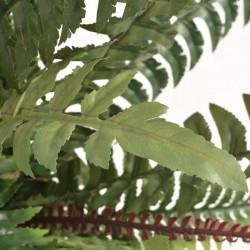 Sonata Изкуствено растение папрат със саксия, 60 см, зелено - Изкуствени цветя