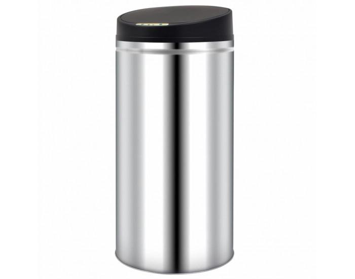 Sonata Кош за отпадъци с автоматичен сензор, 52 л, неръждаема стомана -