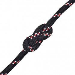 Sonata Морско въже, полипропилен, 6 мм, 100 м, черно - За яхти и лодки