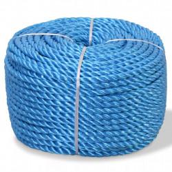 Sonata Усукано въже, полипропилен, 6 мм, 200 м, синьо - Декорация