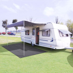 Sonata Килим за палатка, 300x600 см, антрацит - Палатки