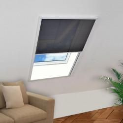 Sonata Алуминиев плисе комарник за прозорци, 60x80 см - Щори