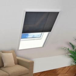 Sonata Алуминиев плисе комарник за прозорци, 80x100 см - Щори
