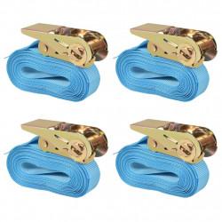 Sonata Укрепващ колан с тресчотка, 4 бр, 0,8 тона, 6мх25мм, син - Инструменти