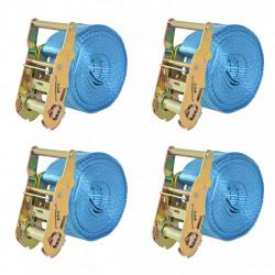 Sonata Укрепващ колан с тресчотка, 4 бр, 2 тона, 6мх38мм, син - Инструменти
