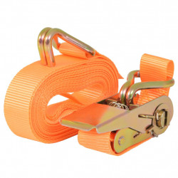Sonata Укрепващ колан с тресчотка, 4 бр, 0,4 тона, 6мх25мм, оранжев - Инструменти
