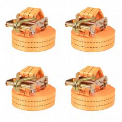 Sonata Укрепващ колан с тресчотка, 4 бр, 1 тон, 6мх38мм, оранжев - Инструменти