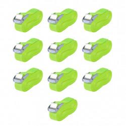 Sonata Ремъци, 10 бр, 0,25 тона, 5mx25mm, флуоресцентно зелено - Инструменти