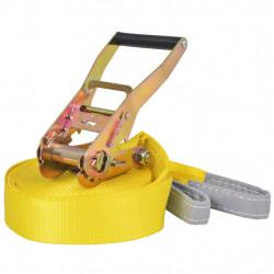 Sonata Слаклайн, 15 м х 50 мм, 150 кг, жълт - Аксесоари