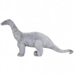 Sonata Плюшен детски динозавър брахиозавър за яздене, сив, XXL - Детски играчки