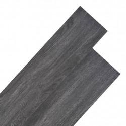 Sonata Подови дъски от PVC 5,26 м² 2 мм черно и бяло - Подови настилки