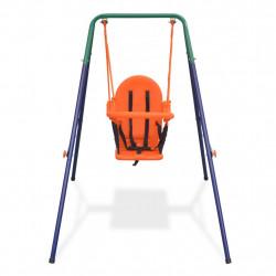 Sonata Детска люлка за двора с колан за безопасност, оранжева - Люлки и Хамаци