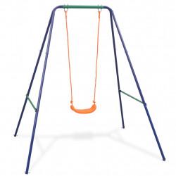 Sonata 2 в 1 Единична люлка и люлка за малки деца, оранжева седалка - Люлки и Хамаци