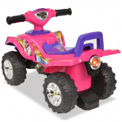 Sonata Детско АТВ със светлини и клаксон, розово и лилаво - Детски превозни средства
