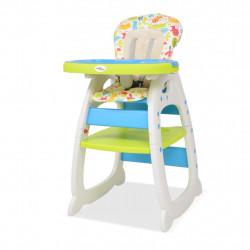 Sonata 3 в 1 Столче за хранене с масичка, синьо и зелено - Сравняване на продукти