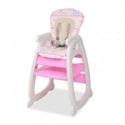 Sonata 3 в 1 Столче за хранене с масичка, розово - Сравняване на продукти