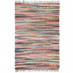 Sonata Ръчно тъкан Chindi килим, 80x160 см, многоцветен - Килими, Мокети и Подложки