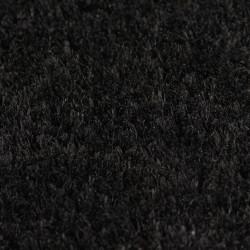 Sonata Кокосови изтривалки, 2 бр, 24 мм, 50x80 см, черни - Изтривалки и Поставки за чадъри
