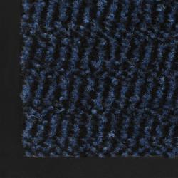 Sonata Правоъгълна изтривалка, усукани влакна, 40х60 см, синя - Изтривалки и Поставки за чадъри