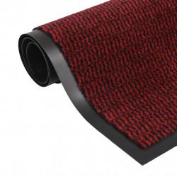 Sonata Правоъгълна изтривалка, усукани влакна, 60х90 см, червена - Изтривалки и Поставки за чадъри