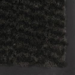 Sonata Правоъгълна изтривалка, усукани влакна, 80х120 см, черна - Изтривалки и Поставки за чадъри