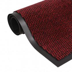 Sonata Правоъгълна изтривалка, усукани влакна, 80х120 см, червена - Изтривалки и Поставки за чадъри