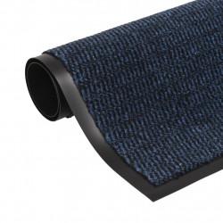 Sonata Правоъгълна изтривалка, усукани влакна, 80х120 см, синя - Изтривалки и Поставки за чадъри