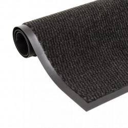 Sonata Правоъгълна изтривалка, усукани влакна, 90х150 см, черна - Изтривалки и Поставки за чадъри