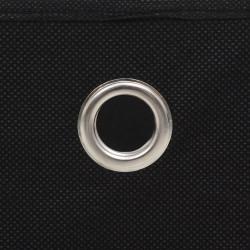 Sonata Кутии за съхранение, 4 бр, нетъкан текстил, 32x32x32 см, черни - Шкафове за обувки