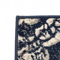 Sonata Модерен килим, пейсли дизайн, 80x150 см, бежово/синьо - Килими, Мокети и Подложки