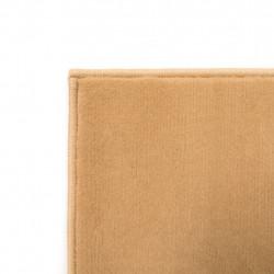 Sonata Модерен килим, дизайн на кръгове, 80x150 см, кафяв - Килими, Мокети и Подложки
