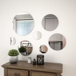 Sonata Комплект стенни огледала от 7 части, кръгли - Огледала