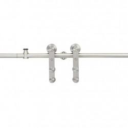 Sonata Механизъм за плъзгаща врата 183 см неръждаема стомана сребрист - Механизми