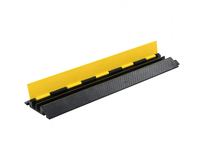Sonata Защитна рампа за кабели, 2 канала, гума, 101,5 см -