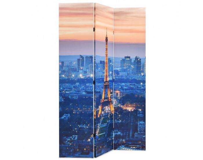 Sonata Сгъваем параван за стая, 120x170 см, нощен Париж -