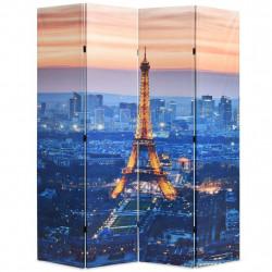 Sonata Сгъваем параван за стая, 160x170 см, нощен Париж - Аксесоари за Всекидневна