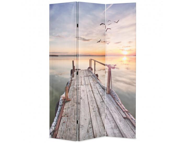 Sonata Сгъваем параван за стая, 120x170 см, езеро -