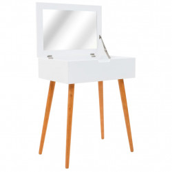 Sonata Тоалетка с огледало, МДФ, 60x40x75 см - Тоалетки