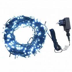Sonata Светещ стринг 400 LED закрито или открито IP44 40 м студено бял - Сезонни и Празнични Декорации