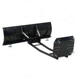 Sonata Гребло за сняг за ATV, 120x38 см, черно - Градинска техника