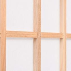 Sonata Параван за стая, 4 панела, японски стил, 160х170 cм, естествен - Аксесоари за Всекидневна