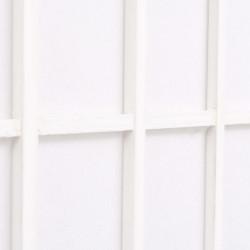 Sonata Параван за стая, 3 панела, японски стил, 120х170 cм, бял - Аксесоари за Всекидневна