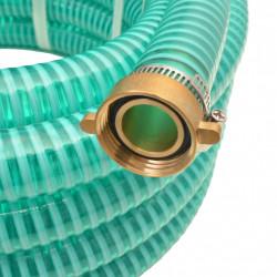 Sonata Смукателен маркуч с месингови съединители, 15 м, 25 мм, зелен - Поливане, Напояване