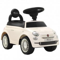 "Sonata Детска кола за яздене ""Fiat 500"" бяла - Детски превозни средства"